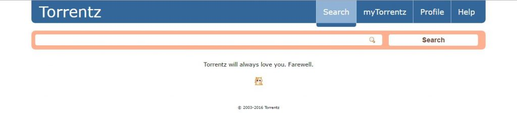 Torrentz Shuts Down